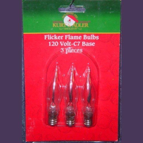 Kurt Adler Ul0702 Flicker Flame Light Set 10 Light Namsolo
