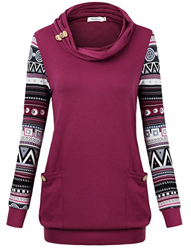 ae926919adc Cowl Neck Long Sleeve Tops for Women
