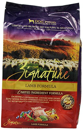 Zignature Kangaroo Formula Dog Food 4 Lb Namsolo